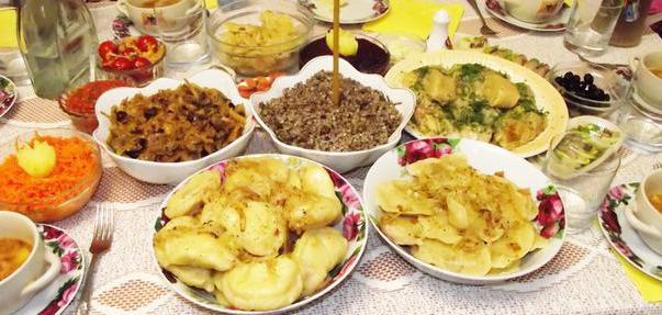 постные блюда на поминки рецепты с фото